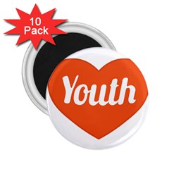 Youth Concept Design 01 2 25  Button Magnet (10 Pack)