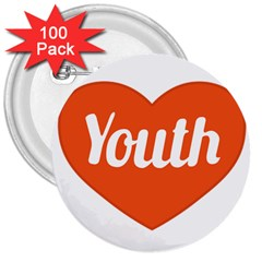Youth Concept Design 01 3  Button (100 Pack)