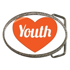 Youth Concept Design 01 Belt Buckle (Oval)