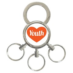 Youth Concept Design 01 3 Ring Key Chain