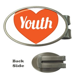 Youth Concept Design 01 Money Clip (oval)