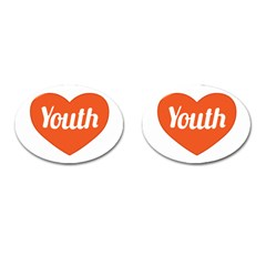 Youth Concept Design 01 Cufflinks (Oval)