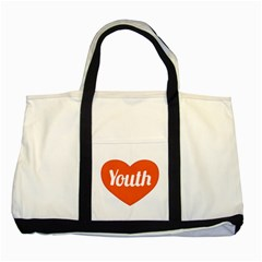 Youth Concept Design 01 Two Toned Tote Bag