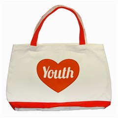Youth Concept Design 01 Classic Tote Bag (Red)