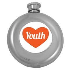 Youth Concept Design 01 Hip Flask (Round)