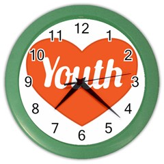 Youth Concept Design 01 Wall Clock (Color)