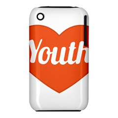 Youth Concept Design 01 Apple iPhone 3G/3GS Hardshell Case (PC+Silicone)