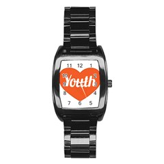 Youth Concept Design 01 Stainless Steel Barrel Watch