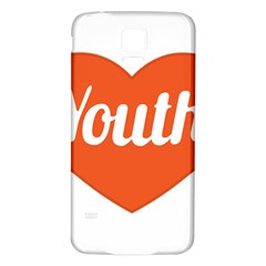 Youth Concept Design 01 Samsung Galaxy S5 Back Case (white)