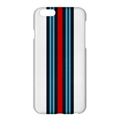 Martini White No Logo Apple iPhone 6 Plus Hardshell Case