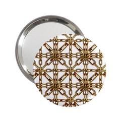 Chain Pattern Collage Handbag Mirror (2.25 )