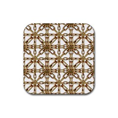 Chain Pattern Collage Drink Coasters 4 Pack (square)