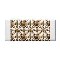 Chain Pattern Collage Hand Towel