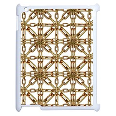 Chain Pattern Collage Apple Ipad 2 Case (white)