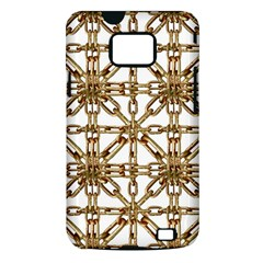 Chain Pattern Collage Samsung Galaxy S II i9100 Hardshell Case (PC+Silicone)