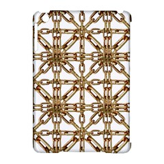 Chain Pattern Collage Apple Ipad Mini Hardshell Case (compatible With Smart Cover)