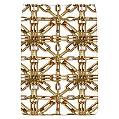 Chain Pattern Collage Removable Flap Cover (Small)