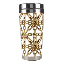 Chain Pattern Collage Stainless Steel Travel Tumbler