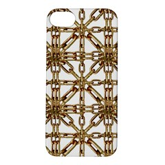 Chain Pattern Collage Apple iPhone 5S Hardshell Case