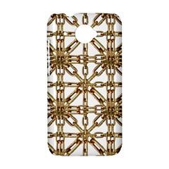 Chain Pattern Collage HTC Desire 601 Hardshell Case