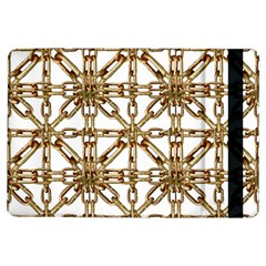 Chain Pattern Collage Apple iPad Air Flip Case