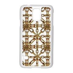 Chain Pattern Collage Samsung Galaxy S5 Case (White)