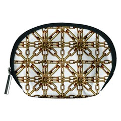 Chain Pattern Collage Accessory Pouch (medium)