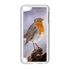 Robin On Log Apple Ipod Touch 5 Case (white)
