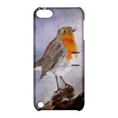 Robin On Log Apple iPod Touch 5 Hardshell Case with Stand
