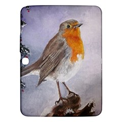 Robin On Log Samsung Galaxy Tab 3 (10.1 ) P5200 Hardshell Case