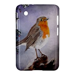 Robin On Log Samsung Galaxy Tab 2 (7 ) P3100 Hardshell Case