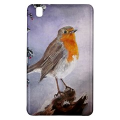 Robin On Log Samsung Galaxy Tab Pro 8 4 Hardshell Case