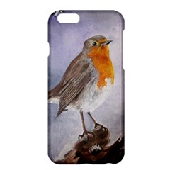 Robin On Log Apple iPhone 6 Plus Hardshell Case