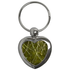Wild Nature Collage Print Key Chain (heart)