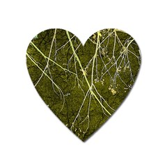 Wild Nature Collage Print Magnet (heart)