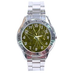 Wild Nature Collage Print Stainless Steel Watch