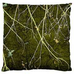 Wild Nature Collage Print Large Cushion Case (Two Sided)