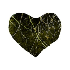 Wild Nature Collage Print 16  Premium Heart Shape Cushion