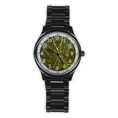 Wild Nature Collage Print Sport Metal Watch (black)