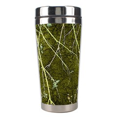 Wild Nature Collage Print Stainless Steel Travel Tumbler