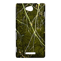 Wild Nature Collage Print Sony Xperia C (S39H) Hardshell Case