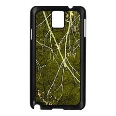 Wild Nature Collage Print Samsung Galaxy Note 3 N9005 Case (Black)