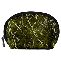 Wild Nature Collage Print Accessory Pouch (Large)