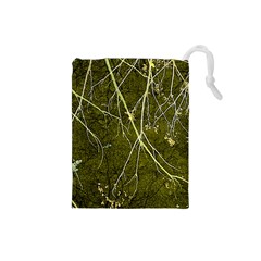 Wild Nature Collage Print Drawstring Pouch (Small)