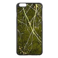 Wild Nature Collage Print Apple Iphone 6 Plus Black Enamel Case