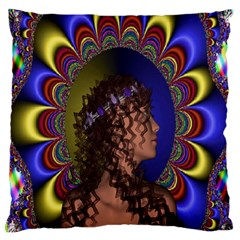 New Romantic Large Cushion Case (two Sided)