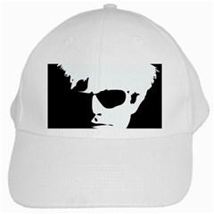 Warhol White Baseball Cap