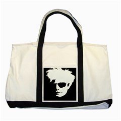 Warhol Two Toned Tote Bag