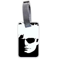 Warhol Luggage Tag (one Side)