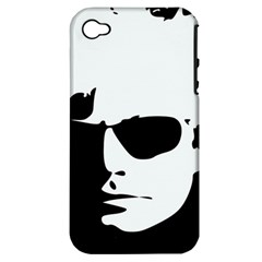 Warhol Apple Iphone 4/4s Hardshell Case (pc+silicone)
